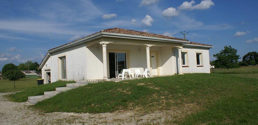 Montauban – Maison récente – Terrain 2000 m² – Calme – 5 mn centre Ouest – REF1445
